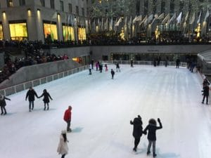 patinar en Rockefeller Center